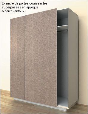 quincaillerie pour portes coulissantes superpos es en. Black Bedroom Furniture Sets. Home Design Ideas