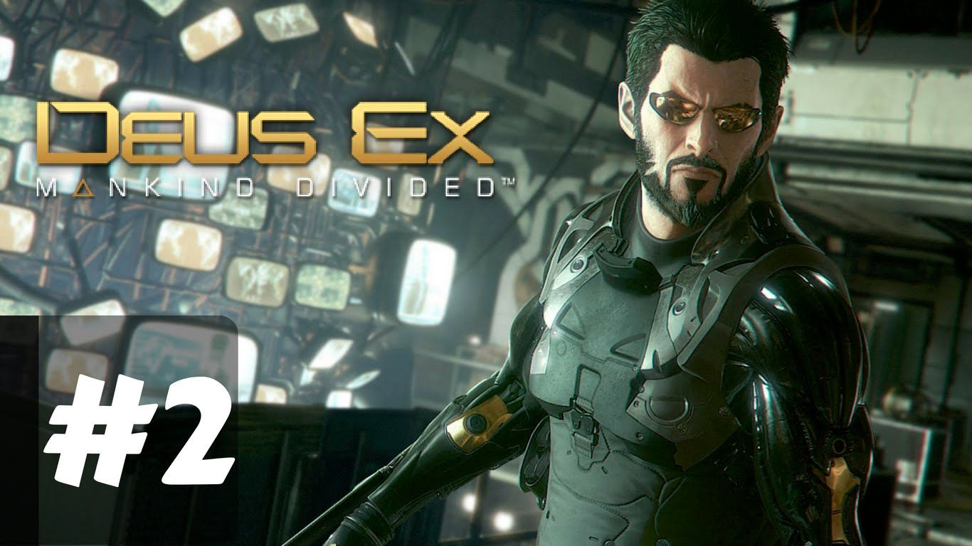 Deus Ex Mankind Divided Gameplay Walkthrough Part 2