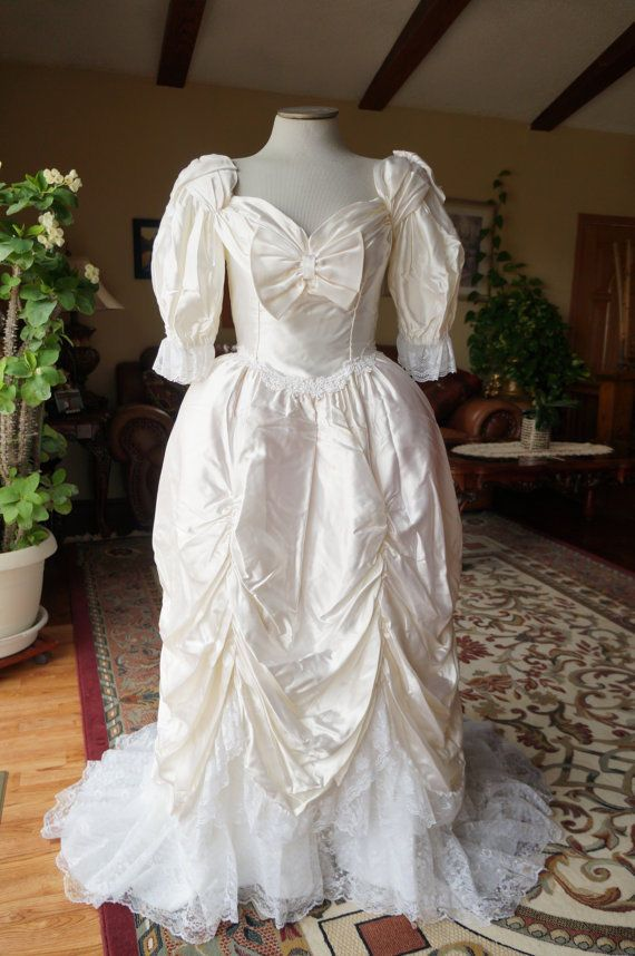 Vintage Southern Belle Wedding Gown #Dress   Southern Bell Wedding ...
