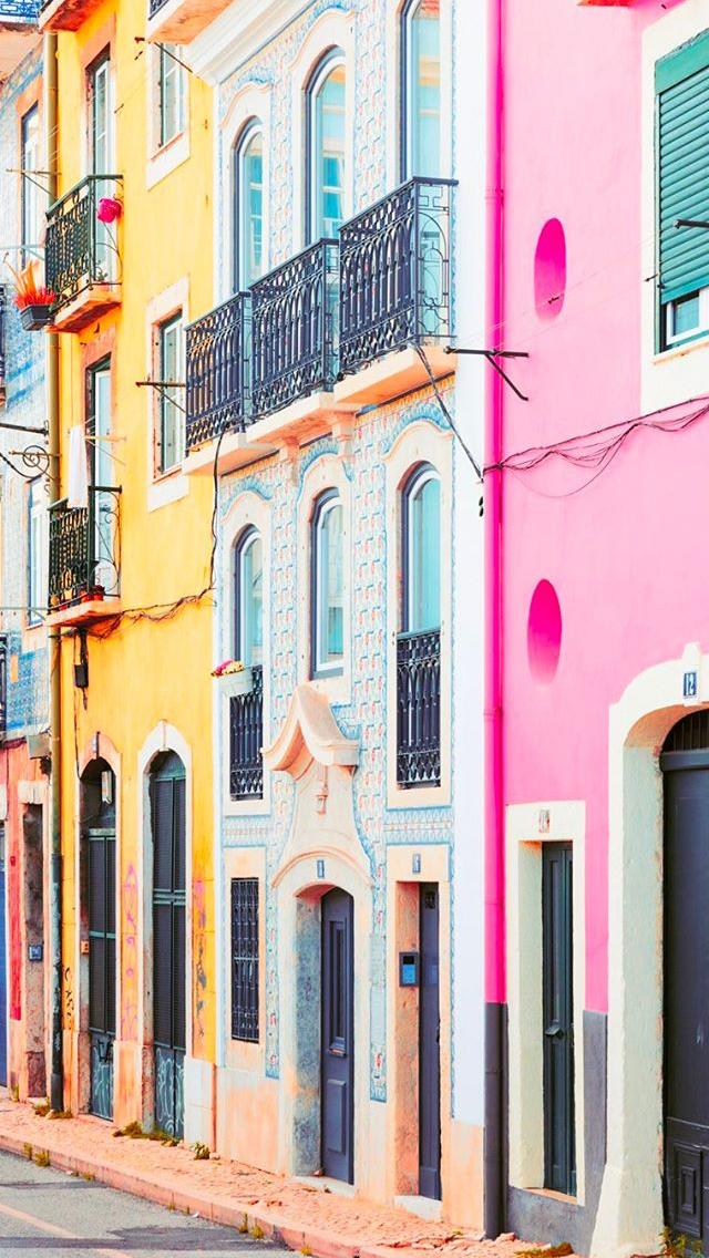 Matt Crump photography iPhone wallpaper Lisbon Portugal