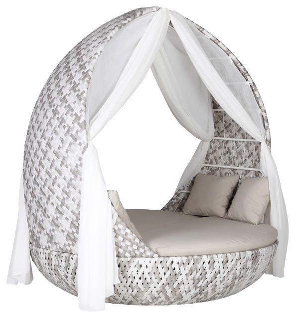 Picadilly Strandkorb Gartenmöbel Sonneninsel Lounge Liegeinsel NEU - gartenmobel lounge rund