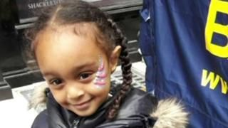 """Grenfell Tower inquiry: Family tribute leaves aunt distraught -  Grenfell Tower inquiry: Family tribute leaves aunt distraught  24 May 2018              Related Topics  Grenfell Tower fire                  Image copyright                  Grenfell InquiryImage caption                      Amaya Tuccu-Ahmedin's aunt said she would continue """"planning"""" her niece's life  The aunt of a three-year-old girl who died in the Grenfell Tower fire has broken down as she told the blaze inquiry how much she had been looking forward to seeing her niece grow up.  Amaya Tuccu-Ahmedin died with her mother Amal Ahmedin 35 and father Mohamednur Tuccu 44.  Ms Ahmedin's sister Winta said she would """"continue planning"""" Amaya's life.  """"What she would be doing today tomorrow her 10th birthday her 18th her 21st and the rest of her life.""""  Who were the victims?  What can we expect from the inquiry?  Amaya and Amal were found next to each other in the lobby of the 23rd-floor lobby while the body of Mr Tuccu was found outside the building. Amna Mahmud Idris one of Amal's cousins also died on the night of 14 June last year while visiting the family.  Winta recalled sharing a bedroom with her sister when growing up and how Amal used to hold her tightly when she had bad dreams.  She told the public inquiry: """"That's where they were when they were burned alive holding each other tight trying to squeeze the nightmare away.""""  She added: """"To this day and the rest of my life I will never accept that they are gone and that I will never be able to see them again and I will never be able to feel their warmth their kind and loving hearts.""""  Another of Amal's sisters Feruza Afewerki said she """"still hadn't been able to make sense of the senseless deaths of innocent and precious lives"""".  She told the hearing: """"Those we grew up with who shared our fondest memories with celebrated and mourned have had their lives stolen from them while the whole of London watched.""""  Day-by-day: the inquiry so far  Day 1: Tribute """