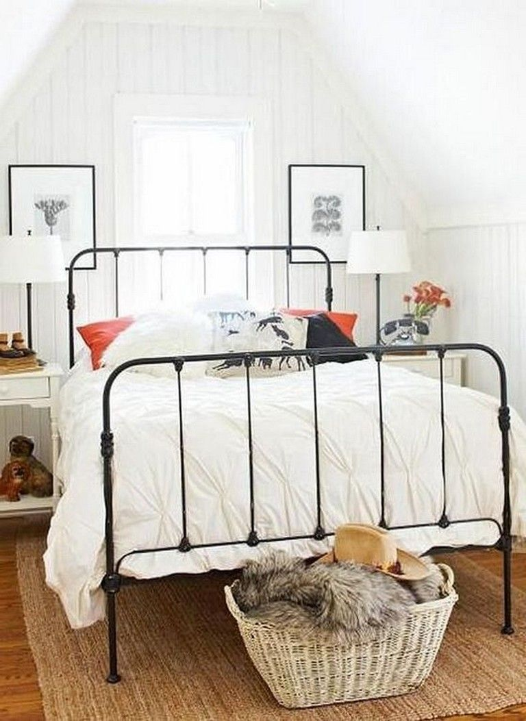 25 Cool Black Wrought Iron Bed Frame Designs Bedroom Page 16 Of