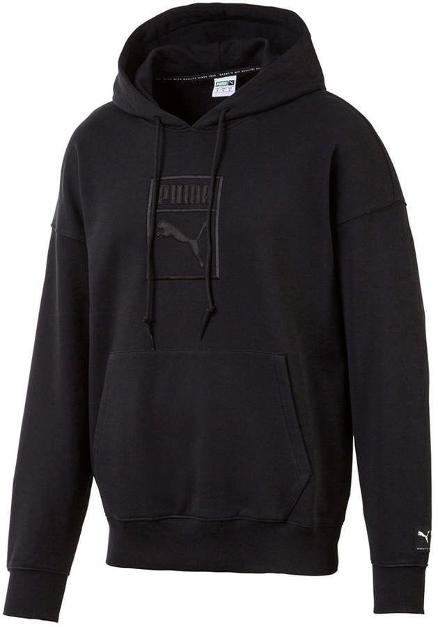 Puma Men's Downtown Relaxed Logo Hoodie in 2019   Mens