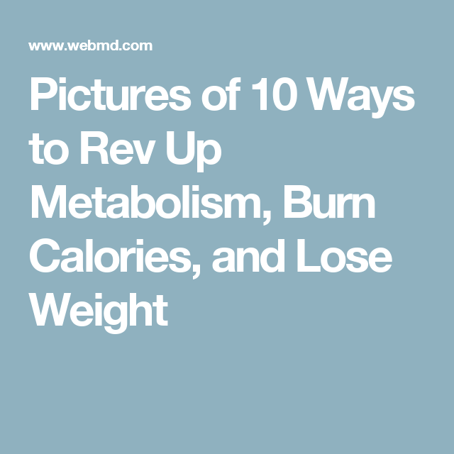 Slideshow: 10 Ways to Speed Up Your Metabolism | Fast ...