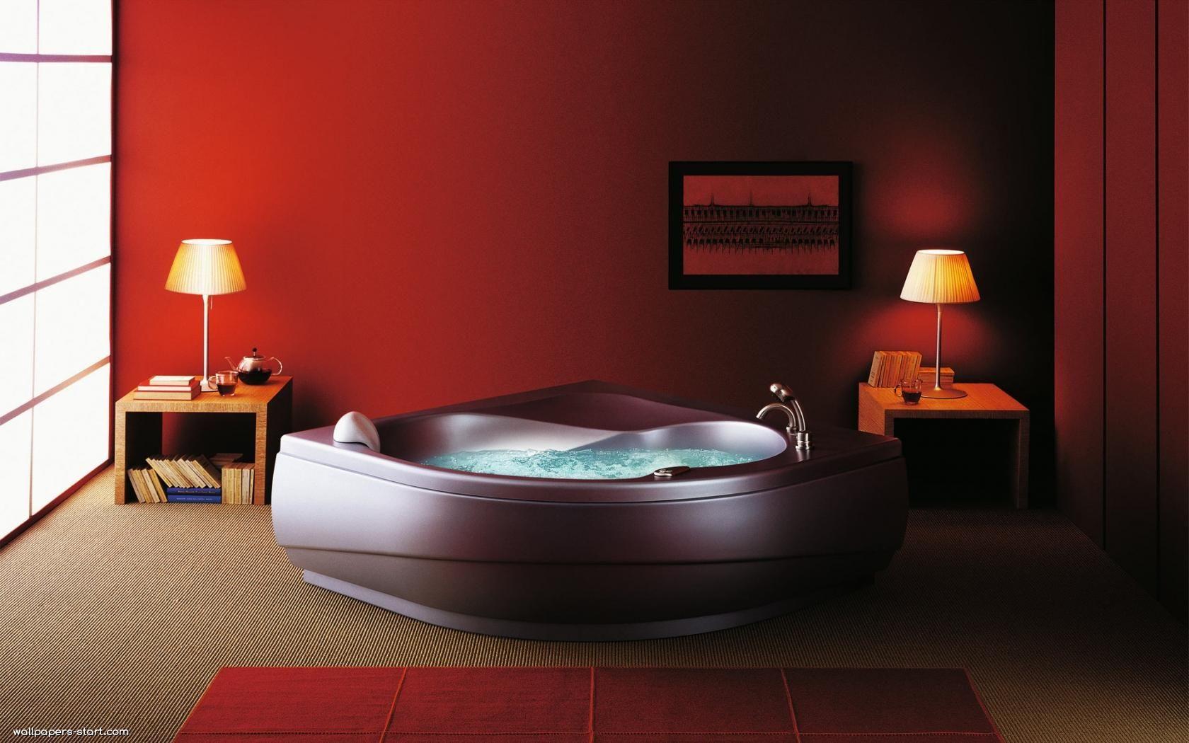 Jacuzzi in master bedroom  Solutii inedite de la Romstal  Hidromasaj  Pinterest