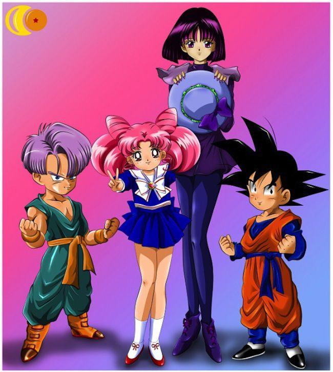 Sailor Moon Dragonball Crossover