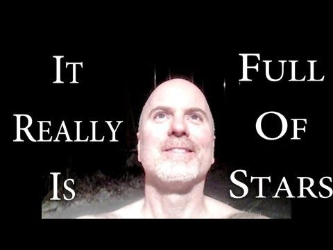 """""""It Really Is Full Of Stars"""" is a short film about the primacy of play.      By the time we reach adulthood, most of us have forgotten how to play in its purest sense, the enjoyment of the act for the sake of the act not the reward-seeking behaviors we are taught to associate with adulthood.  Riding a bicycle in the snow is meaningful in and of it..."""