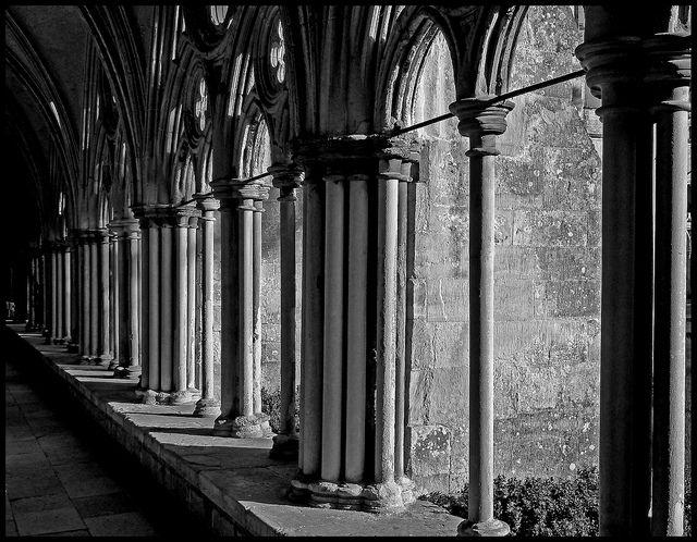 Gothic Windows by albireo2006, via Flickr