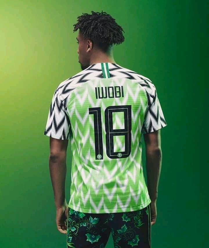 Nigeria 2018 World Cup Nike Away Kit