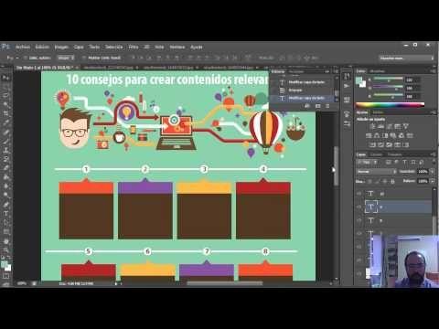 Guía Para Crear Infografías Super Originales Con Photoshop Programa Para Editar Fotos Crear Infografias Editar Fotos Gratis