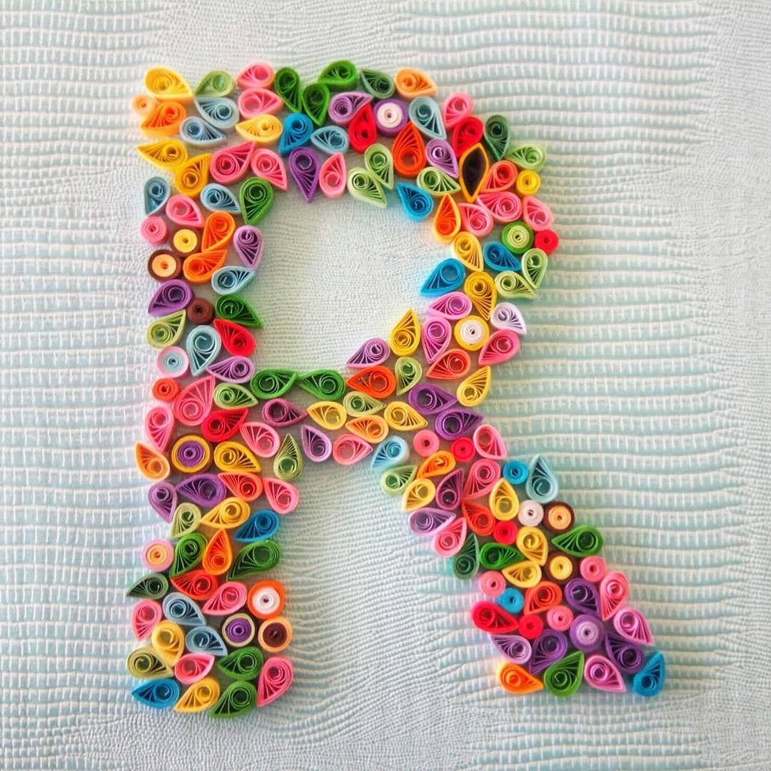 New The 10 Best Crafts Today With Pictures Art Arts Artcrafts Craft Crafts Instacrafts Craftsta Quilling Letters Quilled Paper Art Paper Quilling