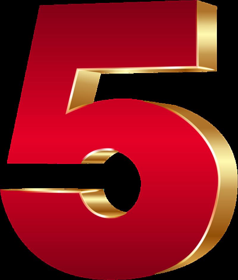 3D_Number_Five_Red_Gold_PNG_Clip_Art_Image.png Clip art