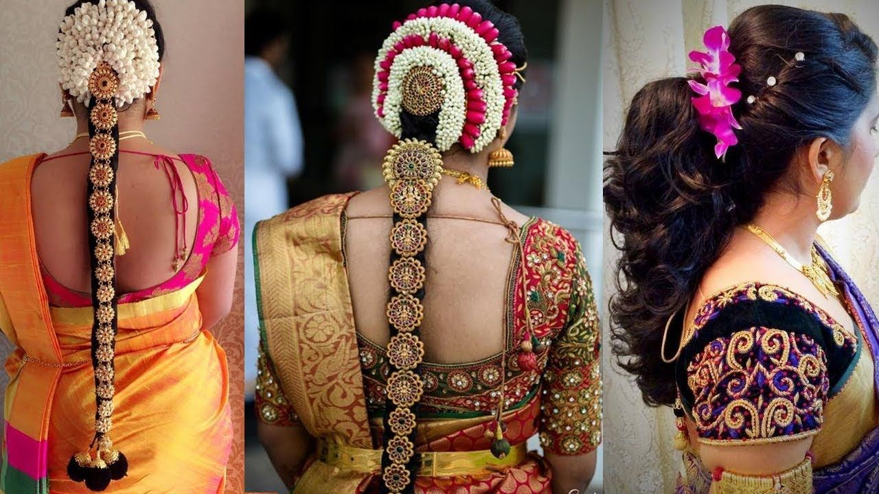 Indian Bridal Hairstyles Step By Step Perfect For Wedding In 2020 Bridal Hairstyle Indian Wedding South Indian Hairstyle Indian Bridal Hairstyles