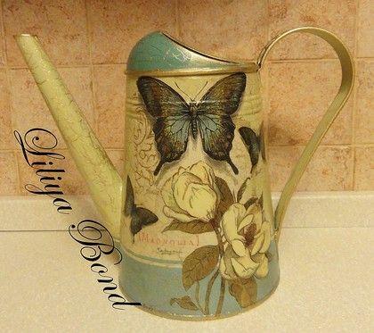 "Лейка-ваза ""Магнолия"" - Цветы и флористика. Ярмарка Мастеров - ручная работа, handmade"