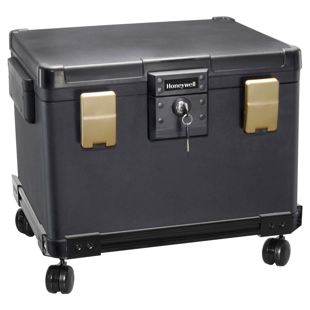 Honeywell 0 60 Cu Ft Waterproof 1 2 Hr Ul Fire Letter Size File Chest Wheel Cart Fire Safe File Chest Honeywell