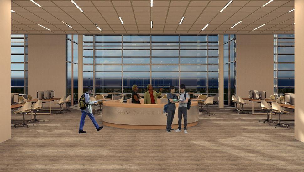 Mtc Library Quackenbush Architects Planners Architect Mtc Architecture