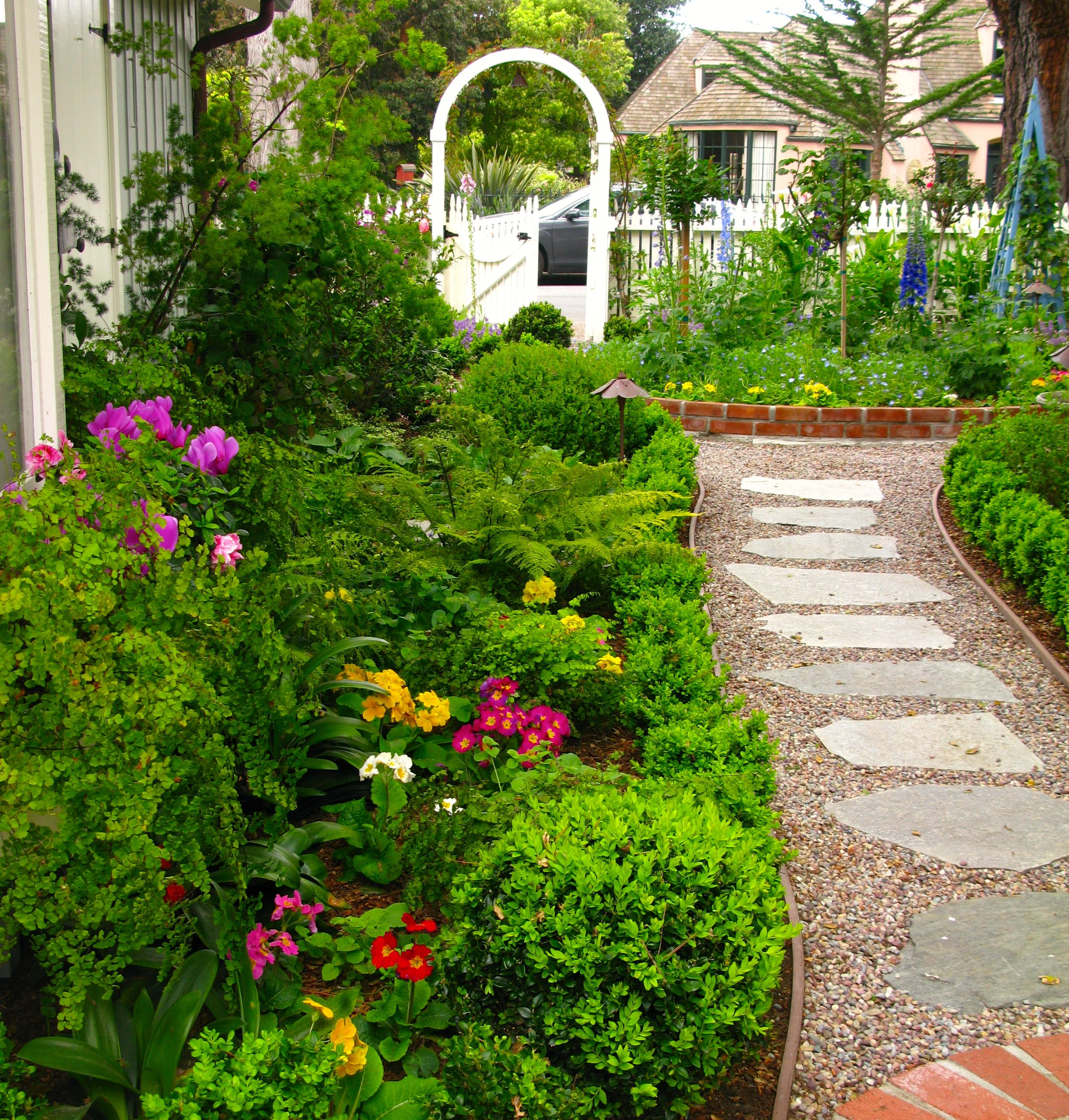 Primrose Cottage Garden Country Cottage Garden Cottage Garden