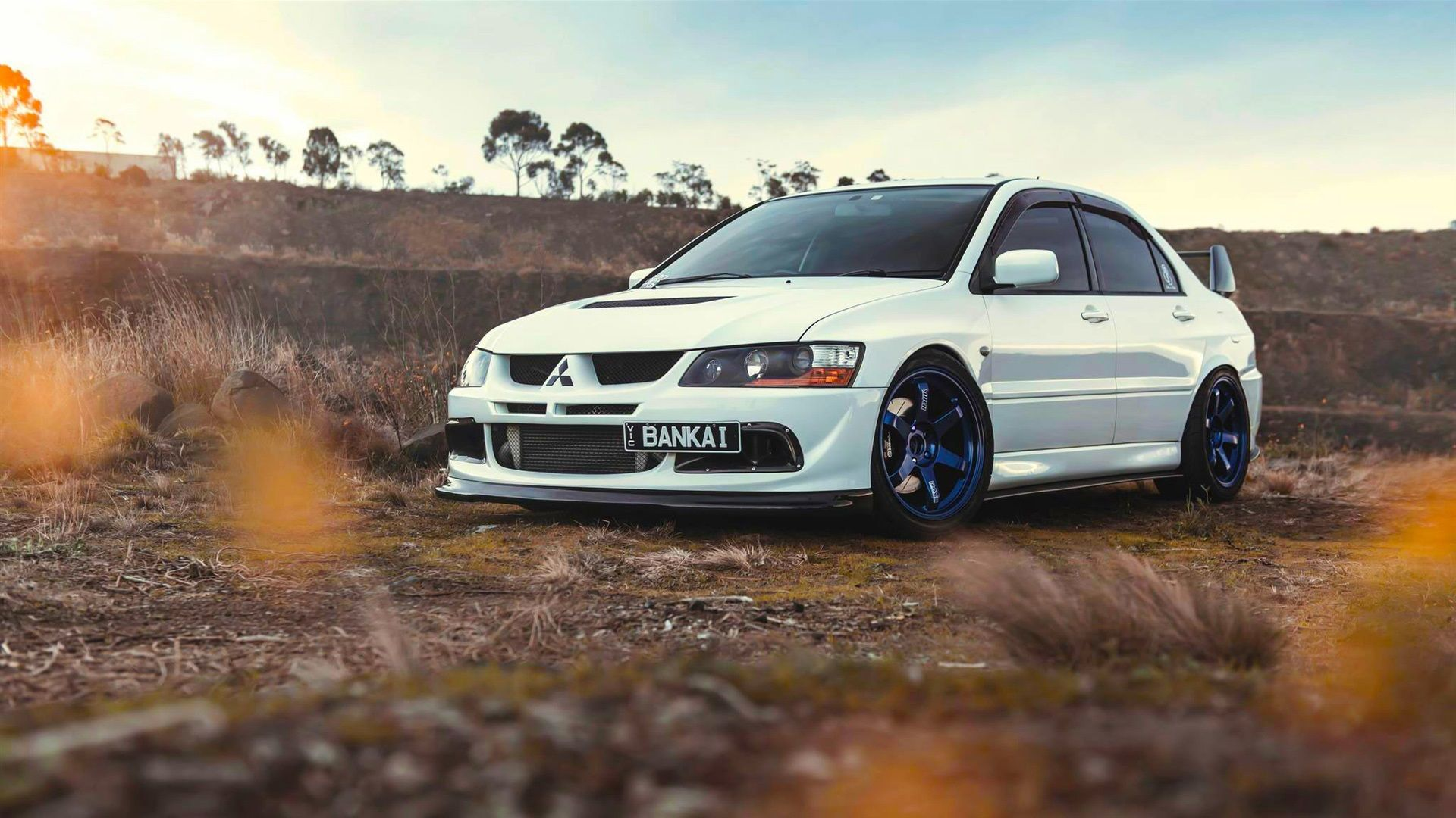 Mitsubishi Lancer Evolution 9 White Car 4k Android Wallpaper 4k Cars