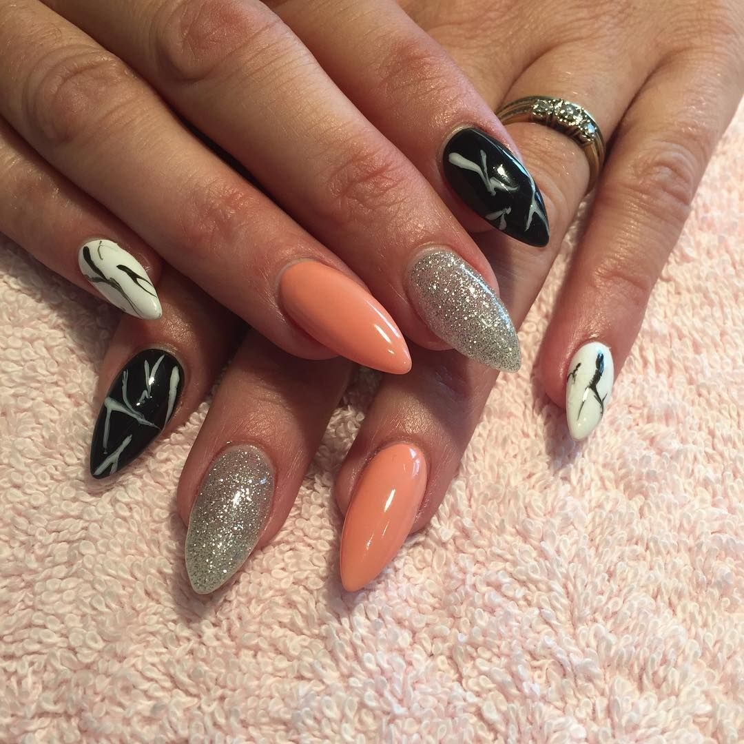 Awesome summer acrylic nail design trends Ногти pinterest