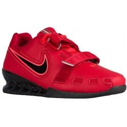 92e05c86d504f Nike Romaleos II Power Lifting - Men s - Training - Shoes - Red Hyper  Crimson Black-sku 76927606