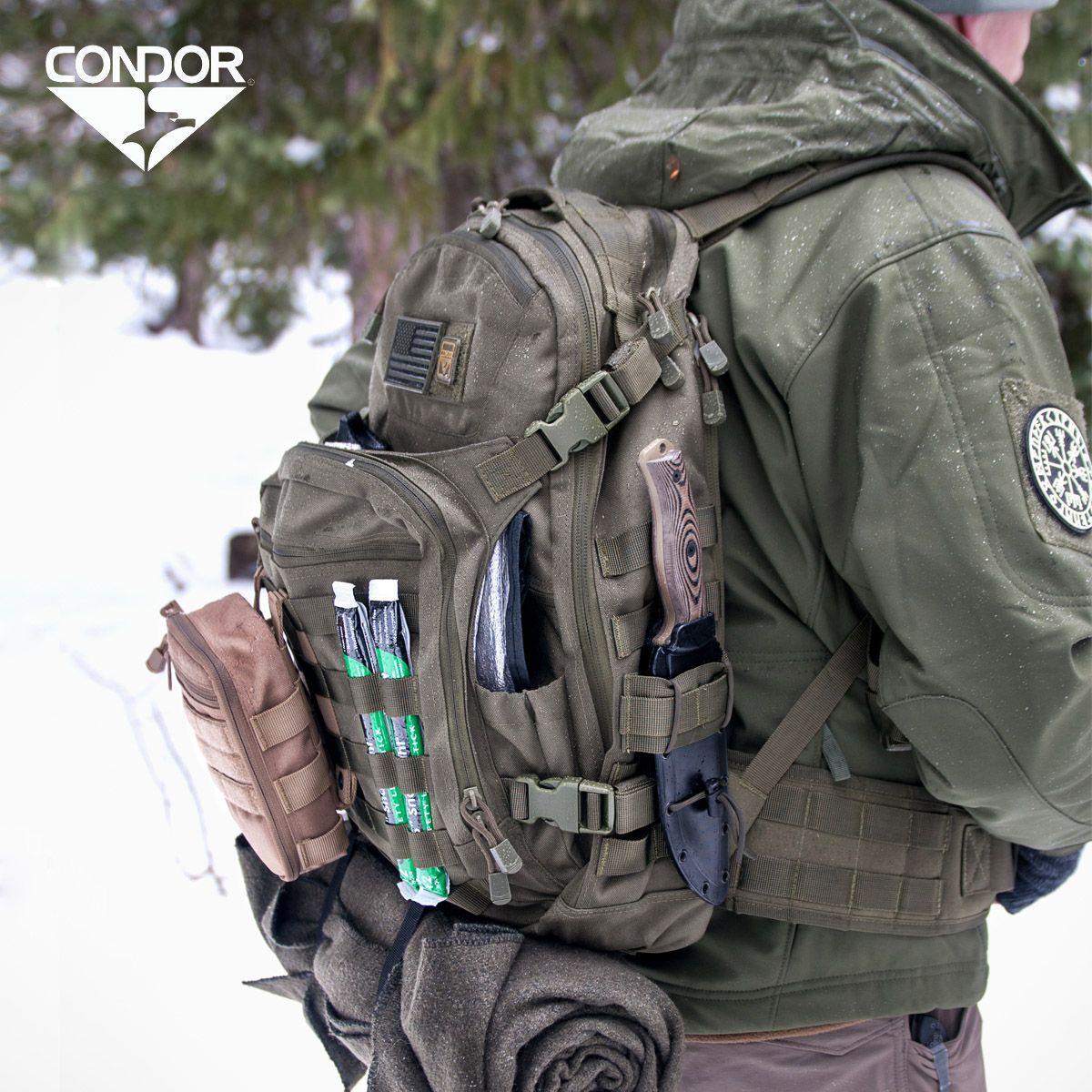 Condor Venture Pack features multiple quick-access compartments c3d8a940dce93