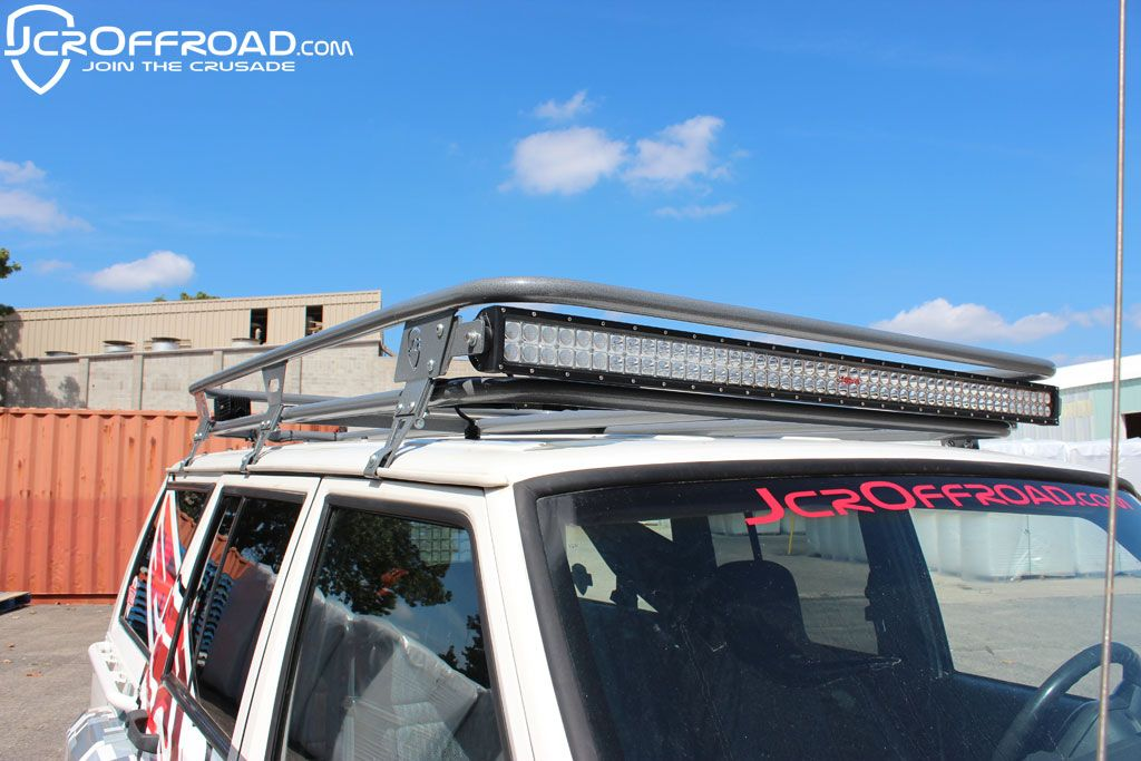 Xj Rack 50 Quot Led Light Bar Mounts Jeep Cherokee Xj 84 01