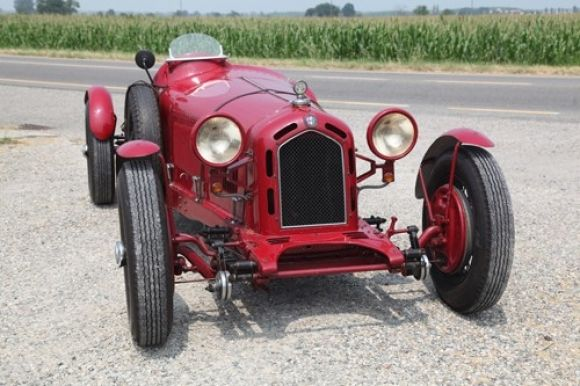 1930 Alfa 6C 1750 Turismo