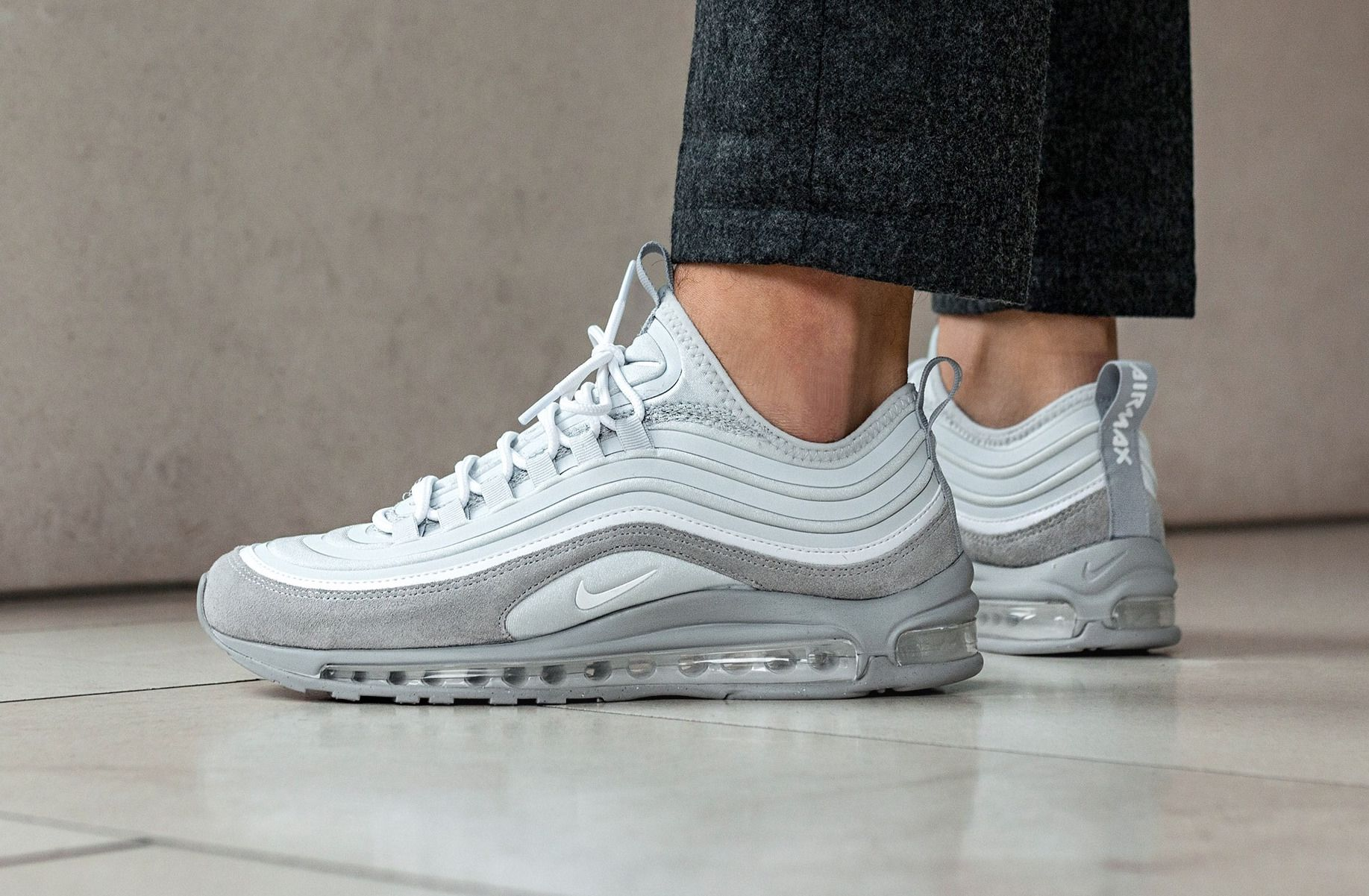 Look For The Nike Air Max 97 Ultra 17 Wolf Grey Now Nike Air Max Nike Nike Air