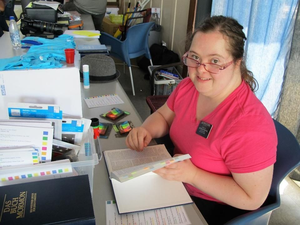 Latterday saint woman with down syndrome serves mission