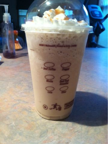 This N That Perfect Homemade Mcdonalds Carmel Frappe Recipe Frappe Recipe Mcdonalds Caramel Frappe Carmel Frappe