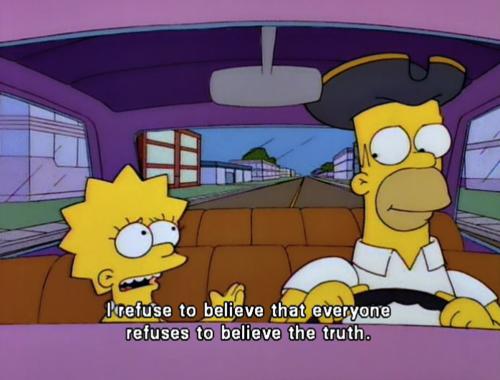 You and me both Lisa | Feminism | Lisa simpson, Simpsons ...  You and me both...