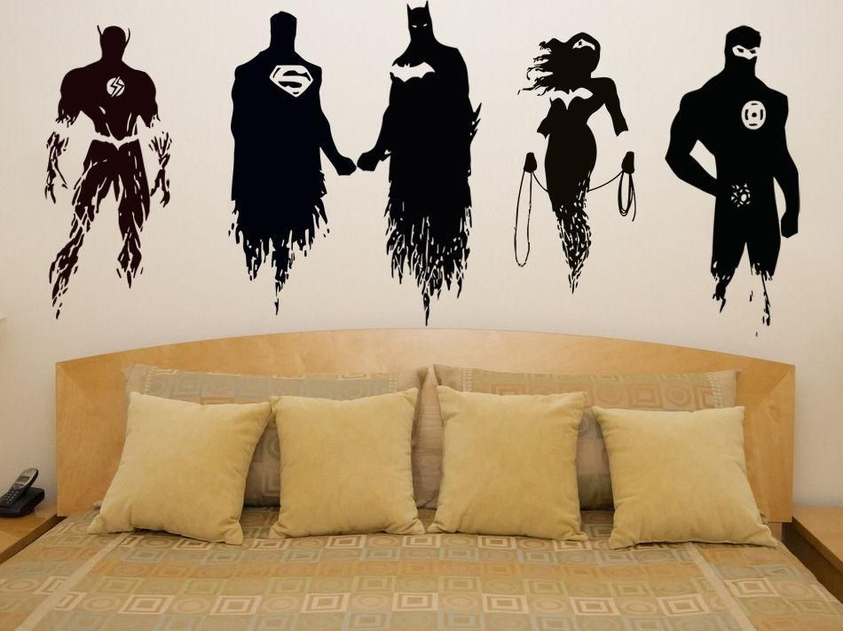 Justice League Wall Decal