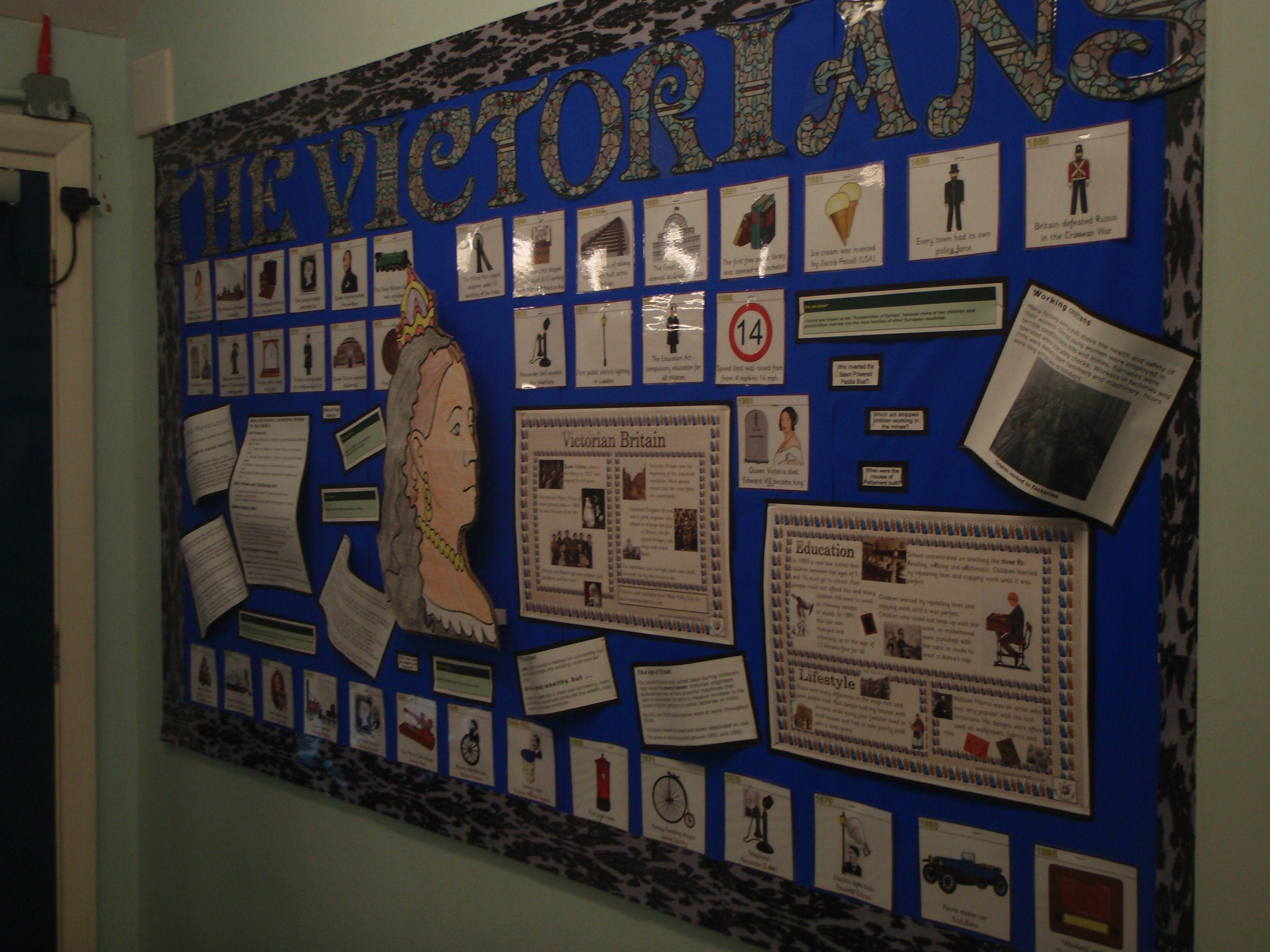 Classroom Display Ideas Victorians ~ The victorians display autumn art projects pinterest