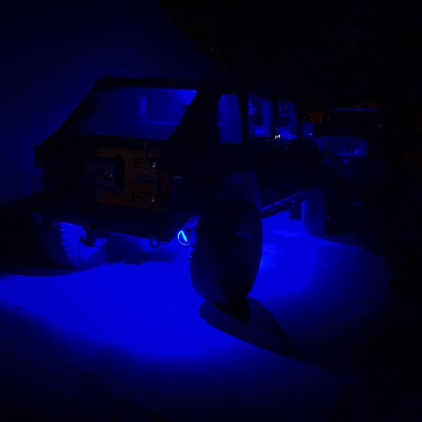 Rgb Underglow Led Rock Lights Bluetooth Multicolor Neon Led