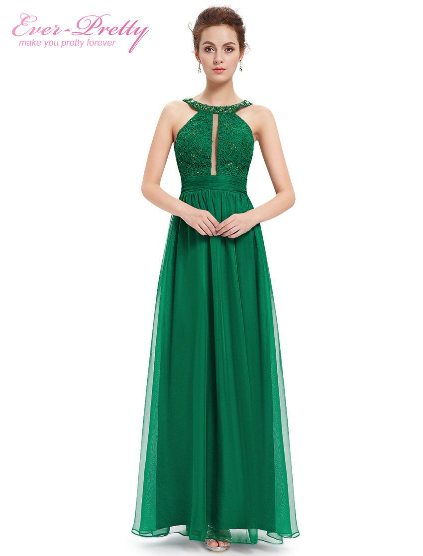 4c98781be7dc Long Evening Dresses 2015 Women Sexy Ever Pretty HE08572 Green Lacy Ruffled  Summer Dress Sexy Hot Selling Evening Dress New