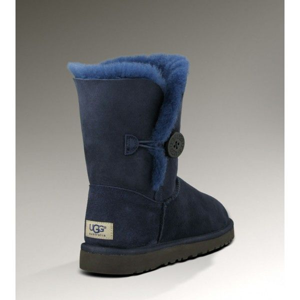 34e62a1ed27 UGG Bailey Button Triplet 5803 Navy Blue with a growing colder ...
