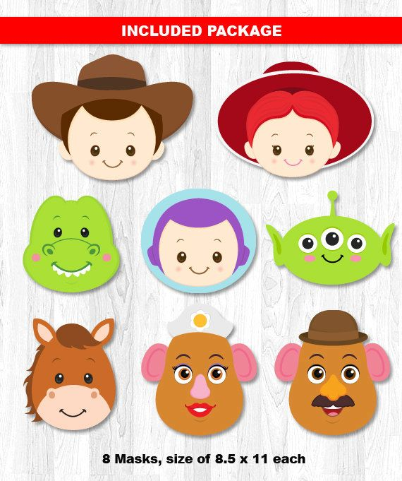 Toy Story Party Set Combo Digital File INSTANT DOWNLOAD ----------------------- ★★ Package Included ★★----------------------------------- You will received 5 PDF files of the following: * 16 Cupcake Toppers & 2 Cupcake Wrapper in 1 PDF File, neatly layout in 8.5 x 11 sheet * 21 Birthday Banners in 1 PDF File, neatly layout in 8.5 x 11 sheet * 4 Water Label in 1 PDF File, neatly layout in 8.5 x 11 sheet * 9 centerpiece in 1 PDF File, neatly layout in 8.5 x 11 sheet * 2 sheet of Tha