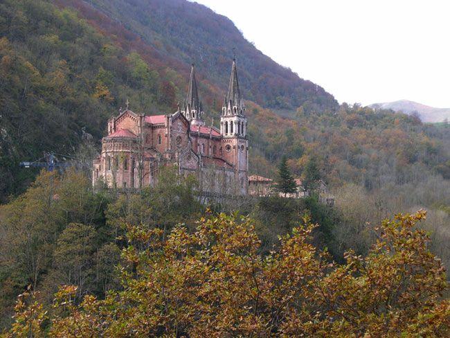 Bas lica de covadonga asturias espa a lugares con encanto san juan de parres cangas de onis - Casa de asturias madrid ...