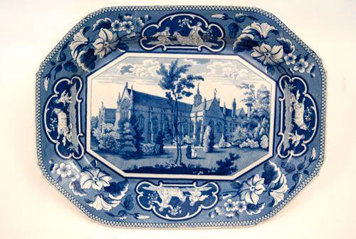 Historical Staffordshire Platter For Sale!