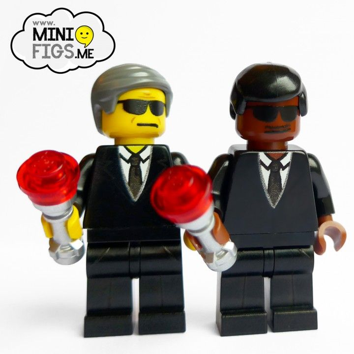 Men-in-Black-will-smith-custom-printed-lego-minifigures brick ...