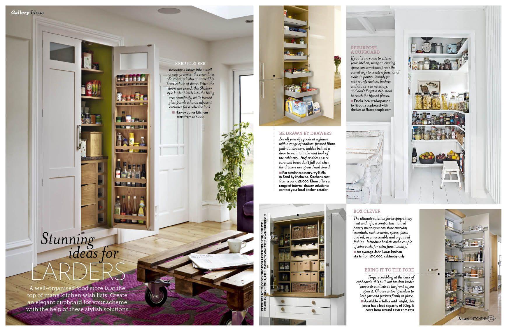 Ideas for larders | For the Home | Pinterest | Larder cupboard ...