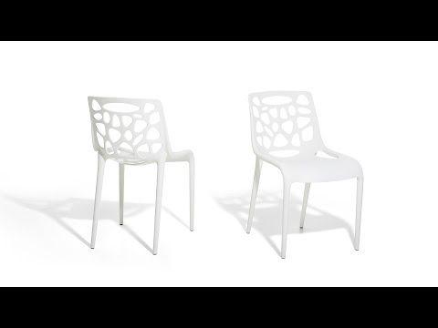 Gartenstuhl Plastikstuhl Weiss Stuhl Aus Kunststoff Morgan