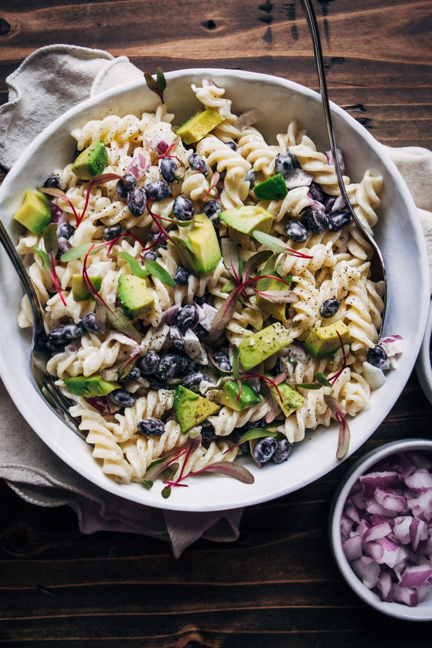 Vegan Ranch Pasta Salad