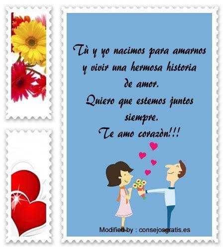 Mensajes Originales De Amor Para Mi Pareja Buscar Mensajes Bonitos De Amor Para Whatsapp Bonit Frases De Ternura Mensajes De Amor Mensaje De Amor Para Novio