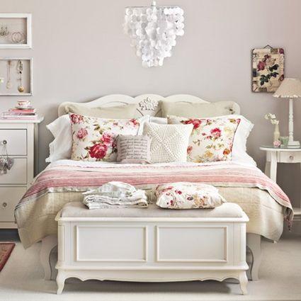 Decora tu dormitorio con estilo shabby chic shabby - Dormitorio shabby chic ...