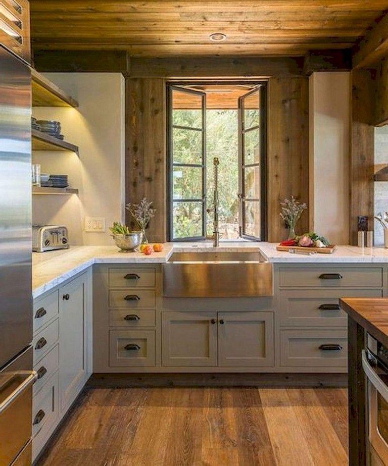 115 elegant modern rustic farmhouse kitchen cabinets ideas farmhouse kitchen cabinets on farmhouse kitchen cabinets id=76554