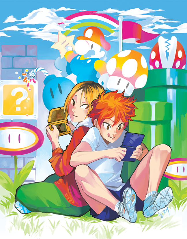 HQ: Game Boys by vythefirst on DeviantArt