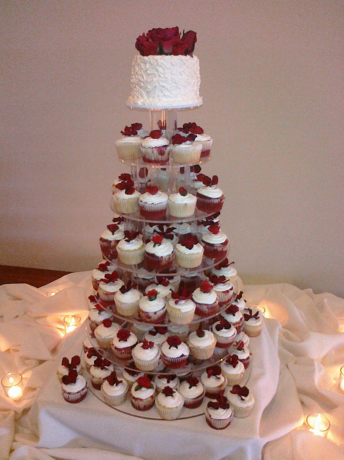 Dream Wedding Safeway Bakery Cupcake Cake