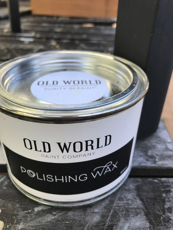 Chemical Free Furniture Wax Australia #oldworldpaint #polishingwax  #furniturewax #